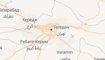 Тегеран - детальная карта