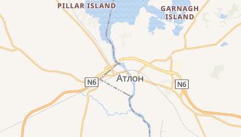 Атлон - детальная карта