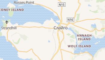 Слайго - детальная карта