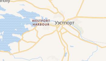 Уэстпорт - детальная карта