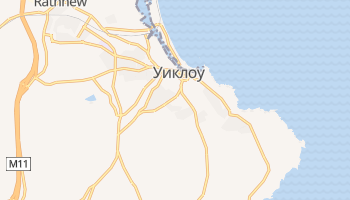 Уиклоу - детальная карта