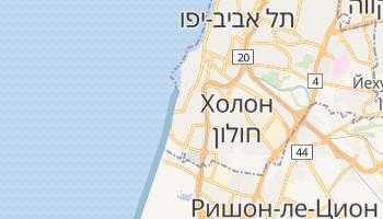 Бат-Ям - детальная карта