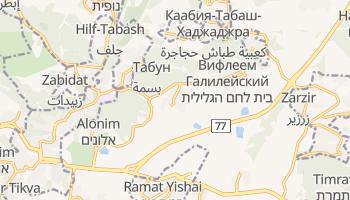Бейт-Шемеш - детальная карта