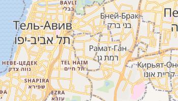 Гиватаим - детальная карта