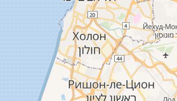 Холон - детальная карта