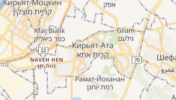 Кирьят-Ата - детальная карта