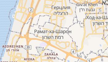 Рамат-ха-Шарон - детальная карта