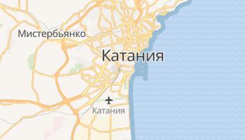 Катания - детальная карта