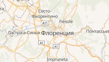 Флоренция - детальная карта