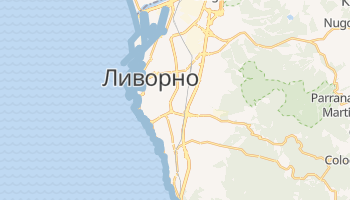 Ливорно - детальная карта