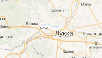 Лукка - детальная карта