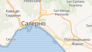Салерно - детальная карта
