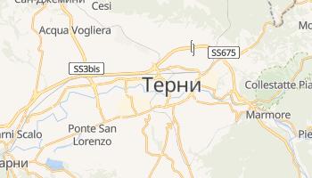 Терни - детальная карта