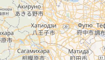 Хатиодзи - детальная карта