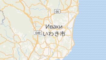 Иваки - детальная карта
