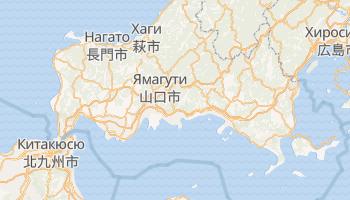 Ивакуни - детальная карта