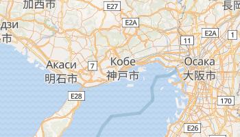 Кобе - детальная карта