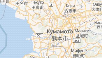 Кумамото - детальная карта