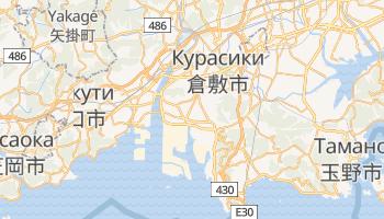 Курашики - детальная карта