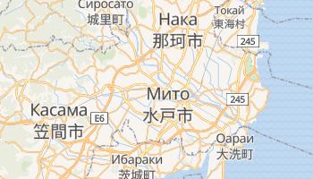 Мито - детальная карта