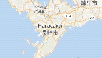 Нагасаки - детальная карта
