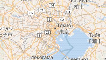 Токио - детальная карта
