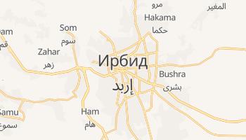 Ирбид - детальная карта