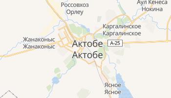 Актюбинск - детальная карта
