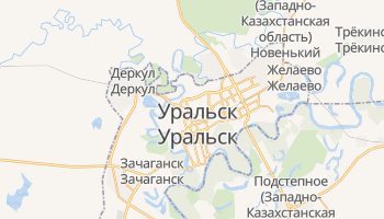 Ural'sk - детальная карта