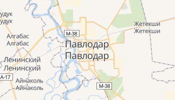 Павлодар - детальная карта