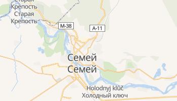 Семипалатинск - детальная карта