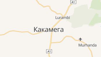 Какамеге - детальная карта