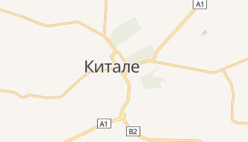 Китале - детальная карта