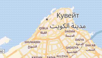Кувейт - детальная карта