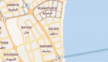 Сальва - детальная карта