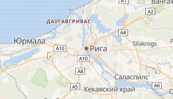 Рига - детальная карта