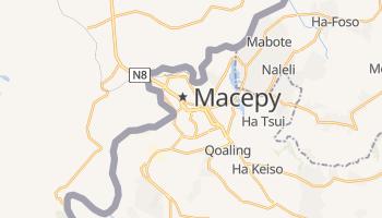 Масеру - детальная карта