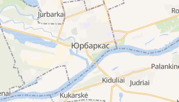 Юрбаркас - детальная карта