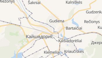 Кайшядорис - детальная карта