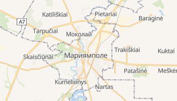 Мариямполе - детальная карта