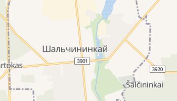 Шальчининкай - детальная карта