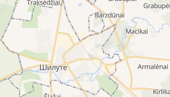Шилуте - детальная карта