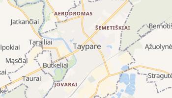 Таураге - детальная карта