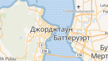 Джорджтаун - детальная карта