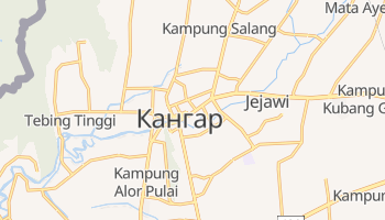 Кангар - детальная карта