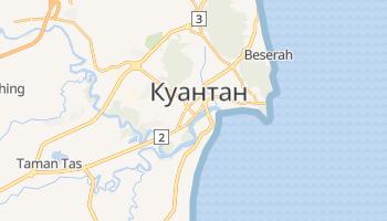 Куантан - детальная карта