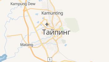 Тайпин - детальная карта