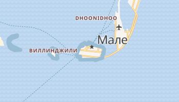 Мале - детальная карта