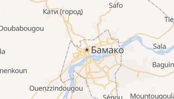 Бамако - детальная карта