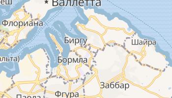 Бормла - детальная карта